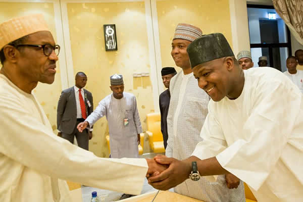 Budget: Buhari, N'Assembly set up committees on 'grey areas'