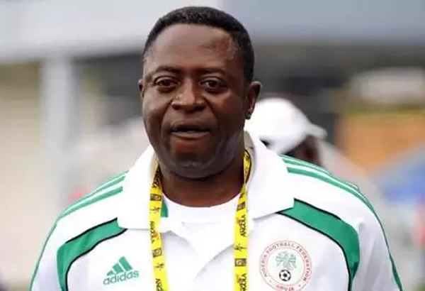 Former Super Eagles coach and technical director, Amodu Shaibu
