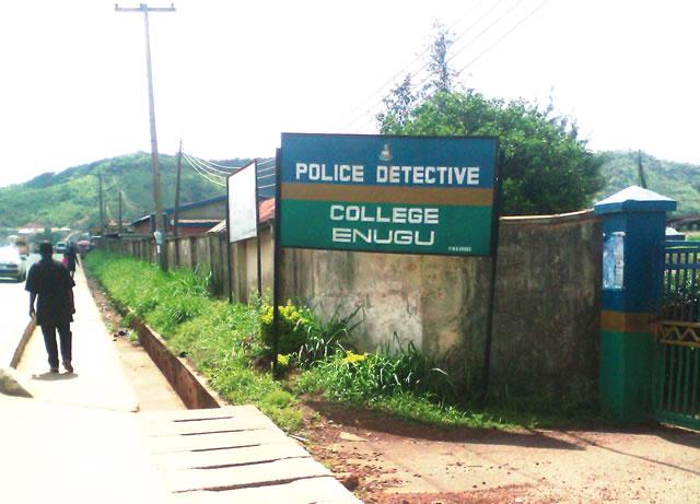 Front gate of Police College, Enugu