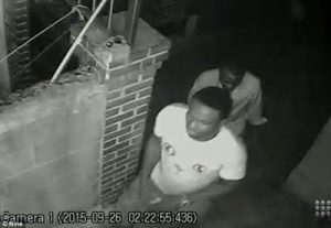 screenshot from the cctv footage