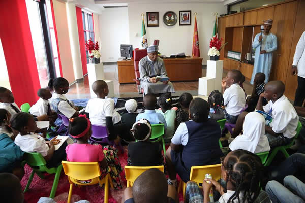 Children's day celebration with Saraki1