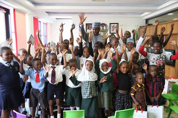 Children's day celebration with Saraki2