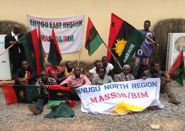 Pro-Biafra activists arrested in Enugu